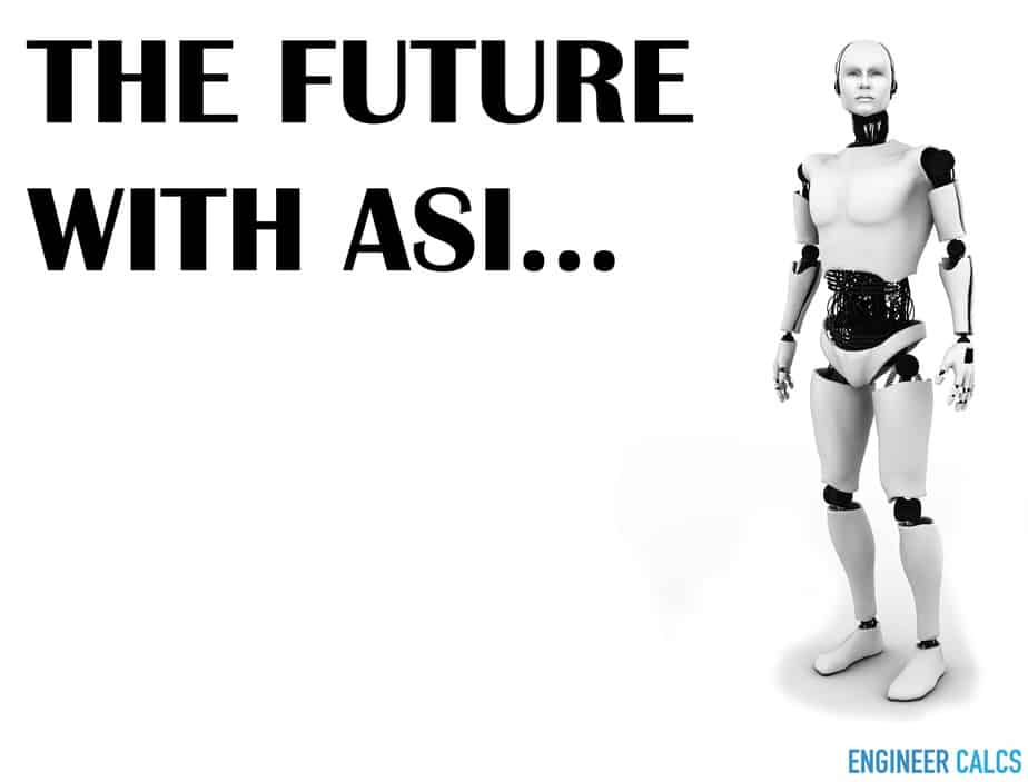 Future with artificial super intelligence ASI and humans