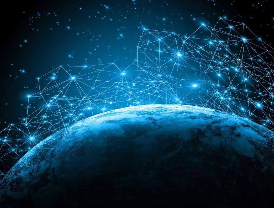 Singularity connections around world through internet