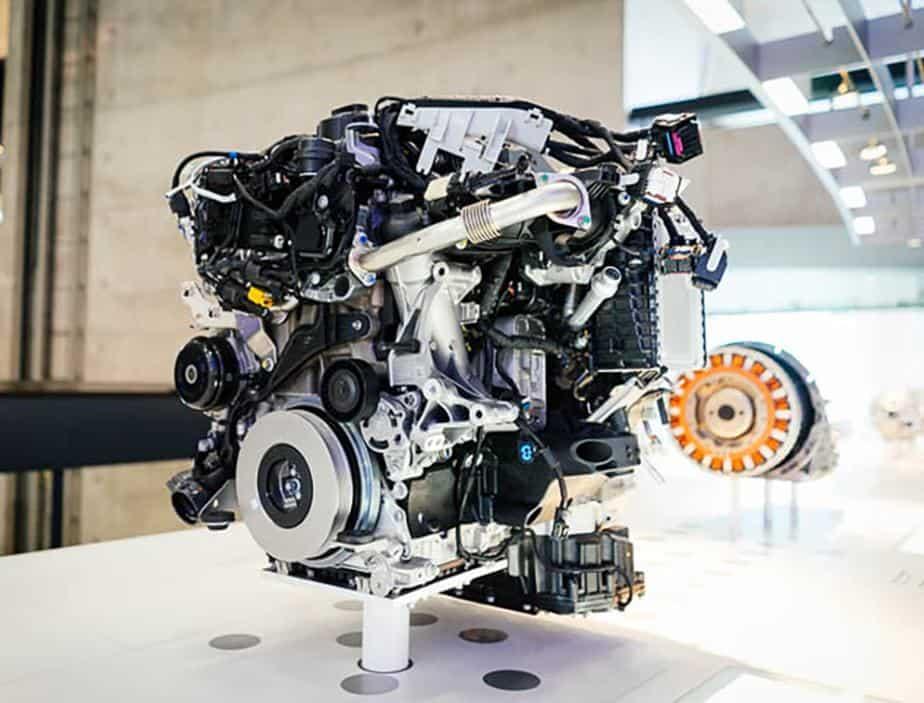 Car internal combustion engine