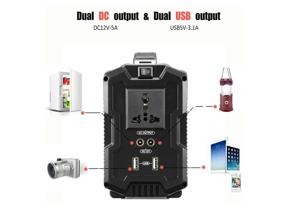 AUDEW portable generator power inverter power supply