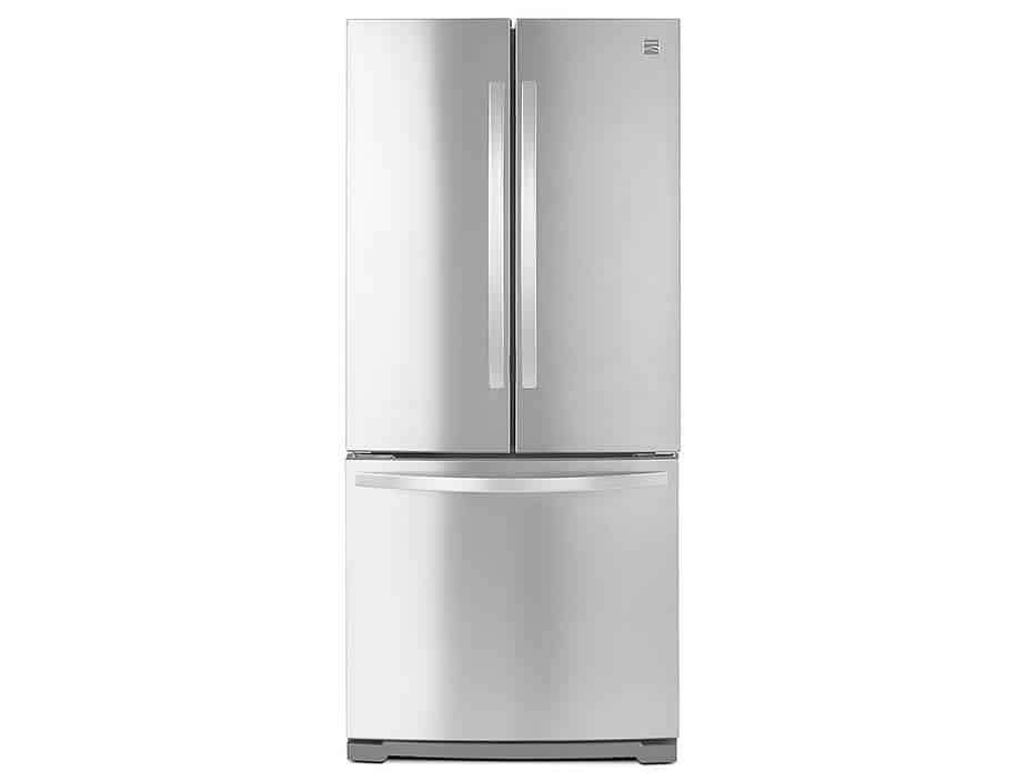 Kenmore bottom freezer refrigerator stainless steel