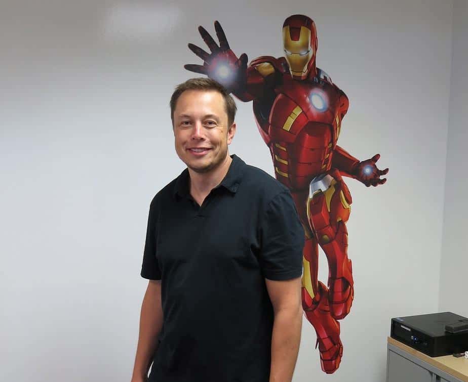 Elon Musk is Tony Stark from Iron Man