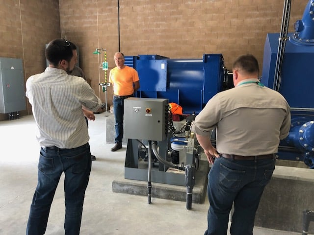 Generator turbine start up testing