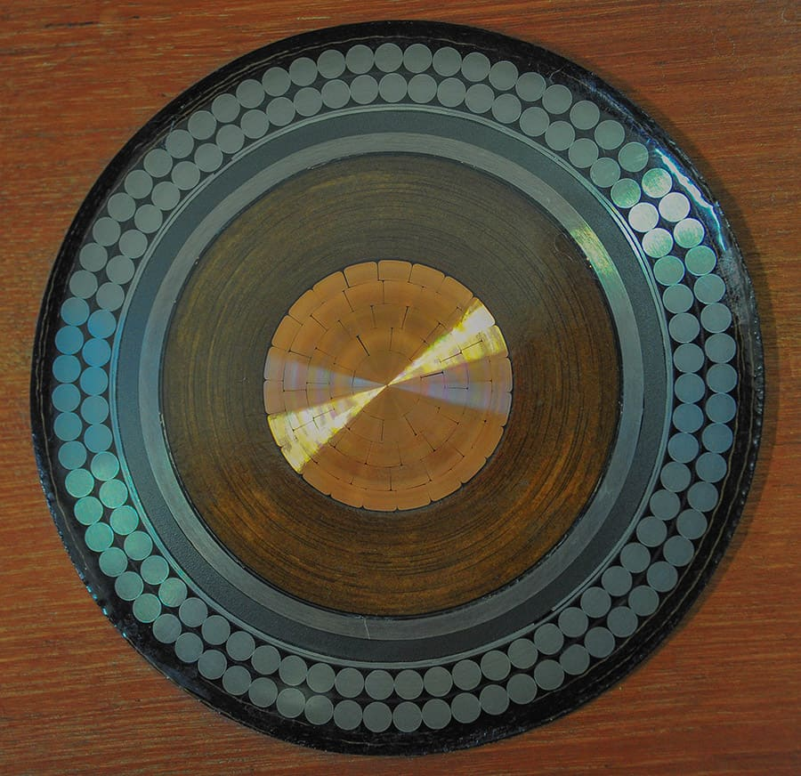 HVDC submarine cable cross section from New Zealand Inter island scheme