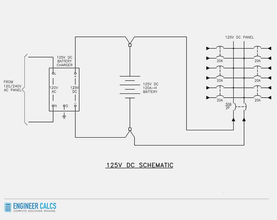 125v dc schematic