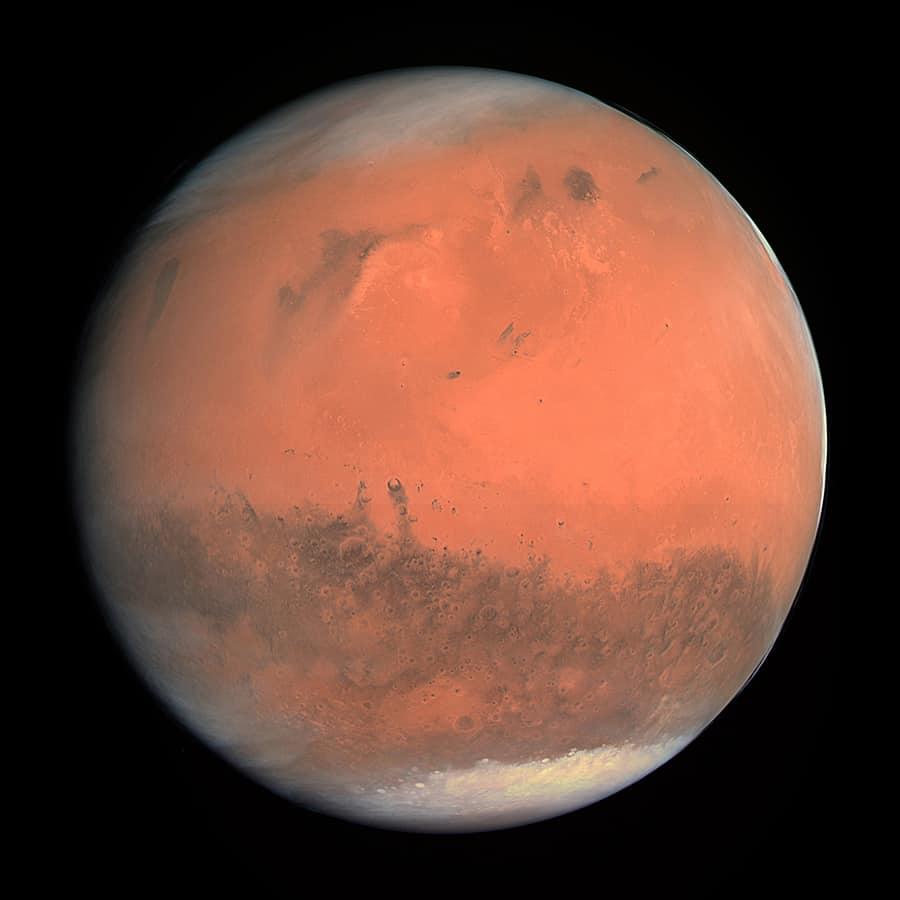 Mars true color