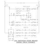 17kv switchgear control schematic