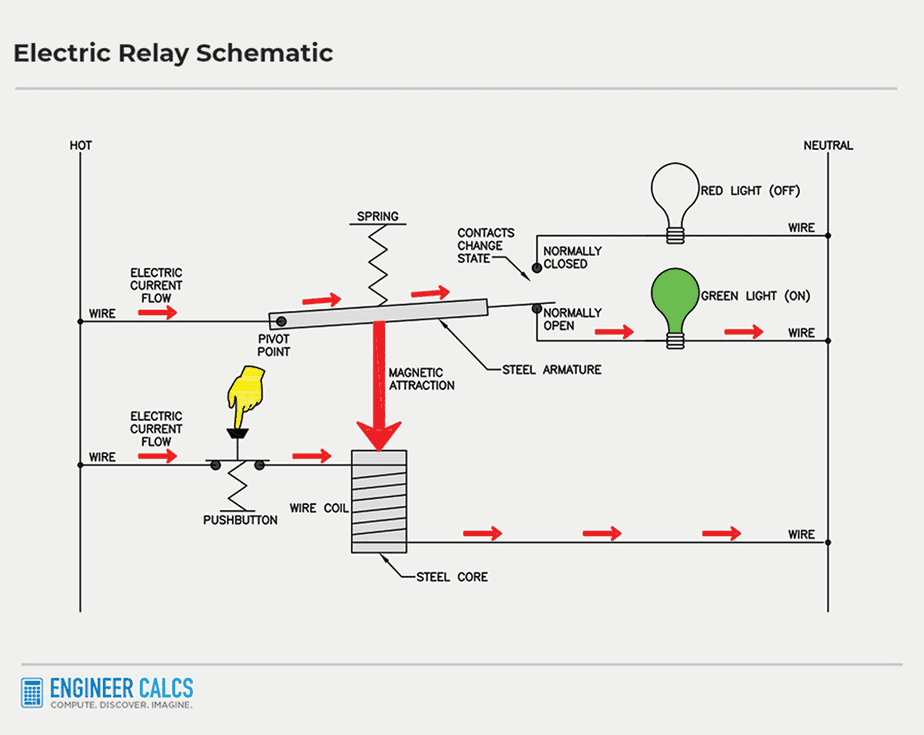 electric relay control schematic 5