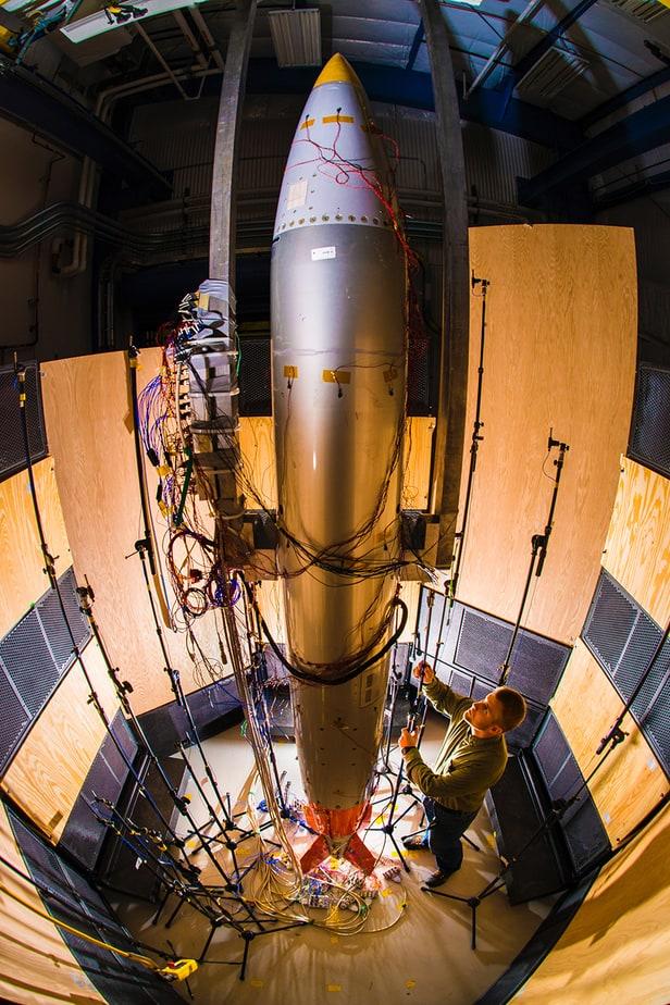 sandia national laboratory mechanical engineer work on a b-61-12 system