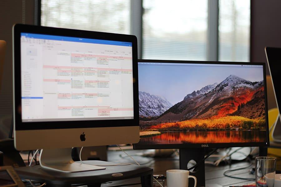 berkeley communications dual monitors