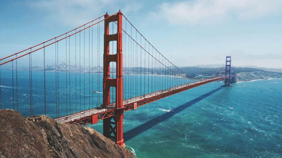 golden gate bridge full suspension bridge