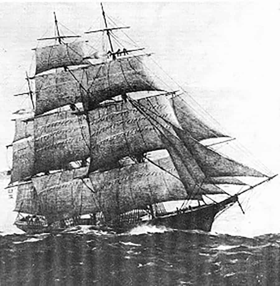 sailing ships 1800s