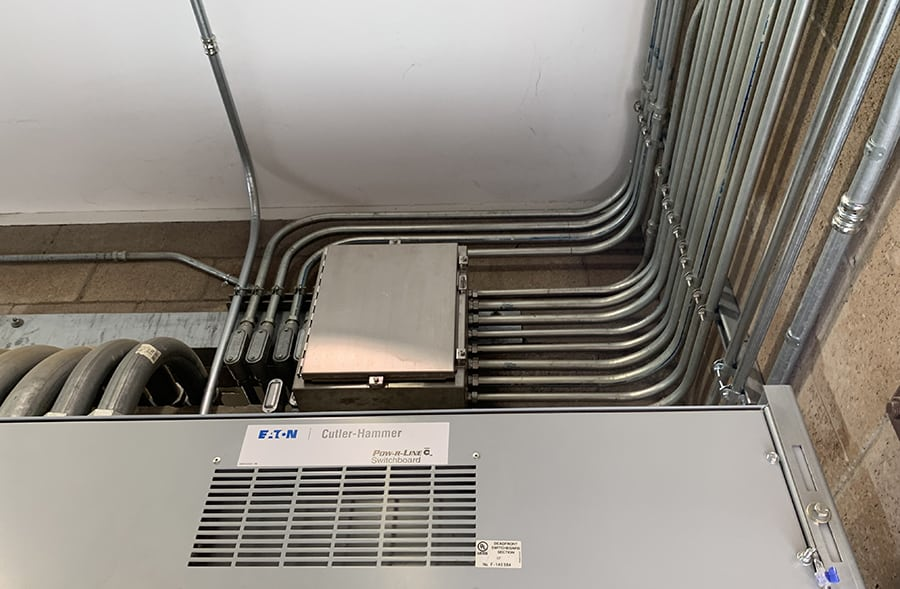 electrical conduit guide