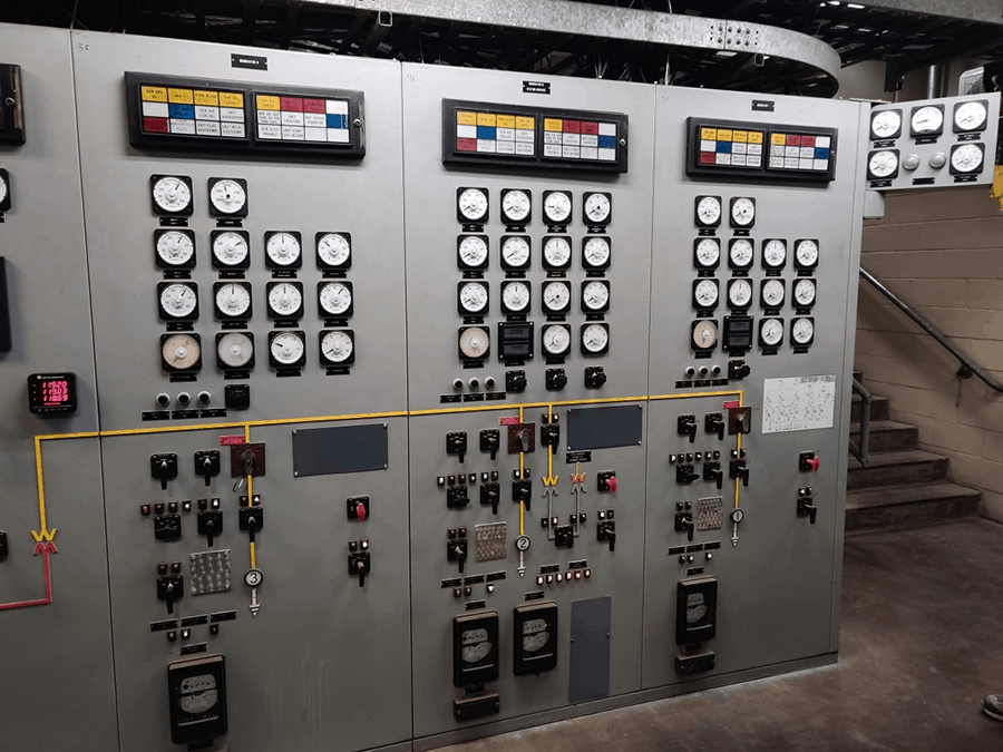 hydroelectric power plant switchgear