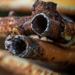 rusted pipe cathodic protection