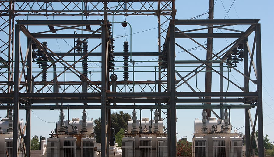 substation construction sequencing