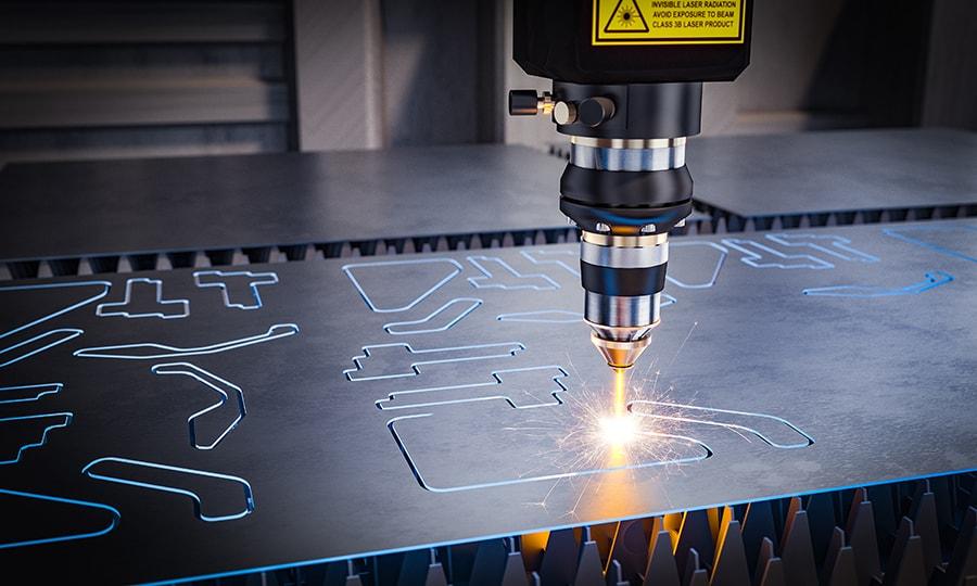 cnc laser machinery metal cutting