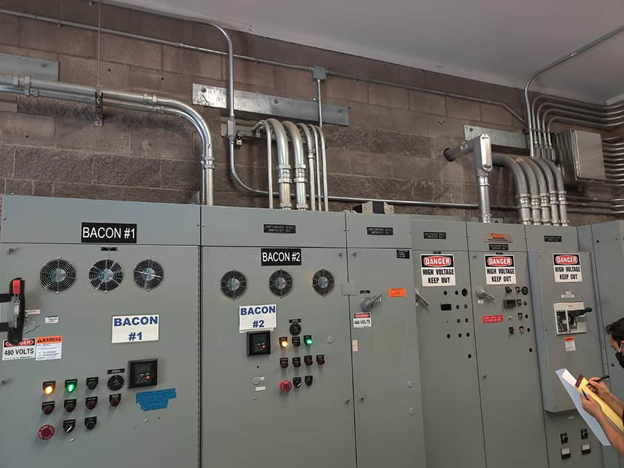 electrical equipment lineup