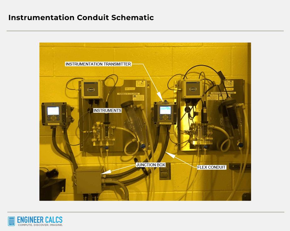 instrumentation conduit schematic