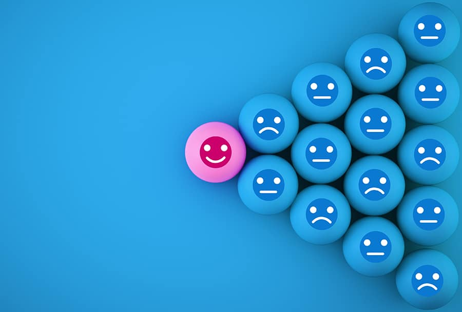 maintain positivity against all odds