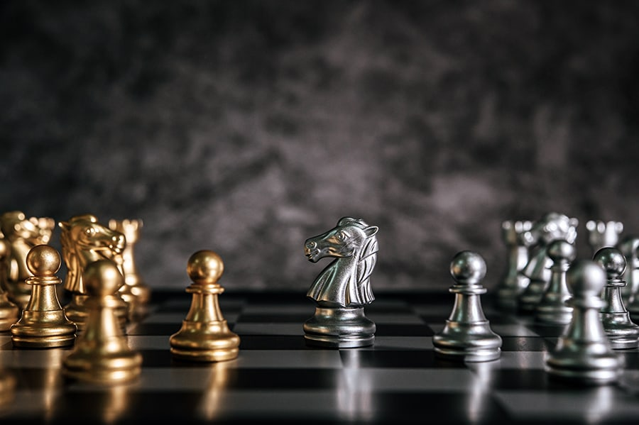 management is like playing chess
