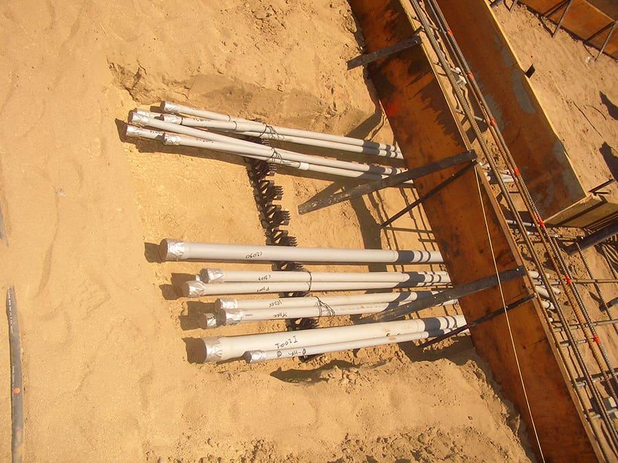 underground conduit spacers