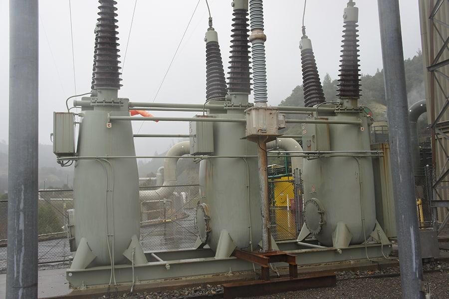 geothermal station circuit breaker