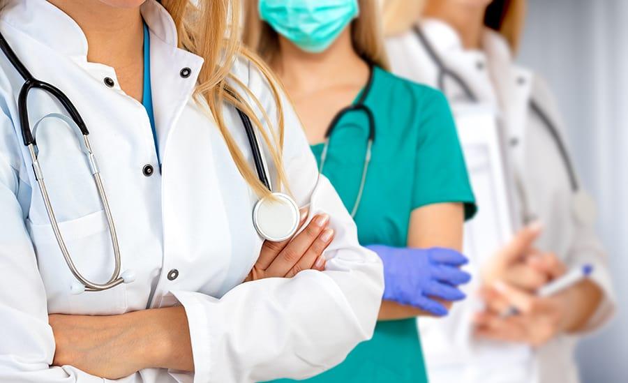 healthcare field dress code