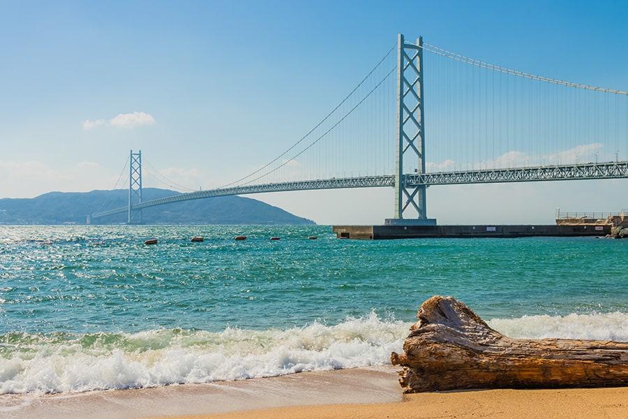 akashi kaikyo bridge kobe japan