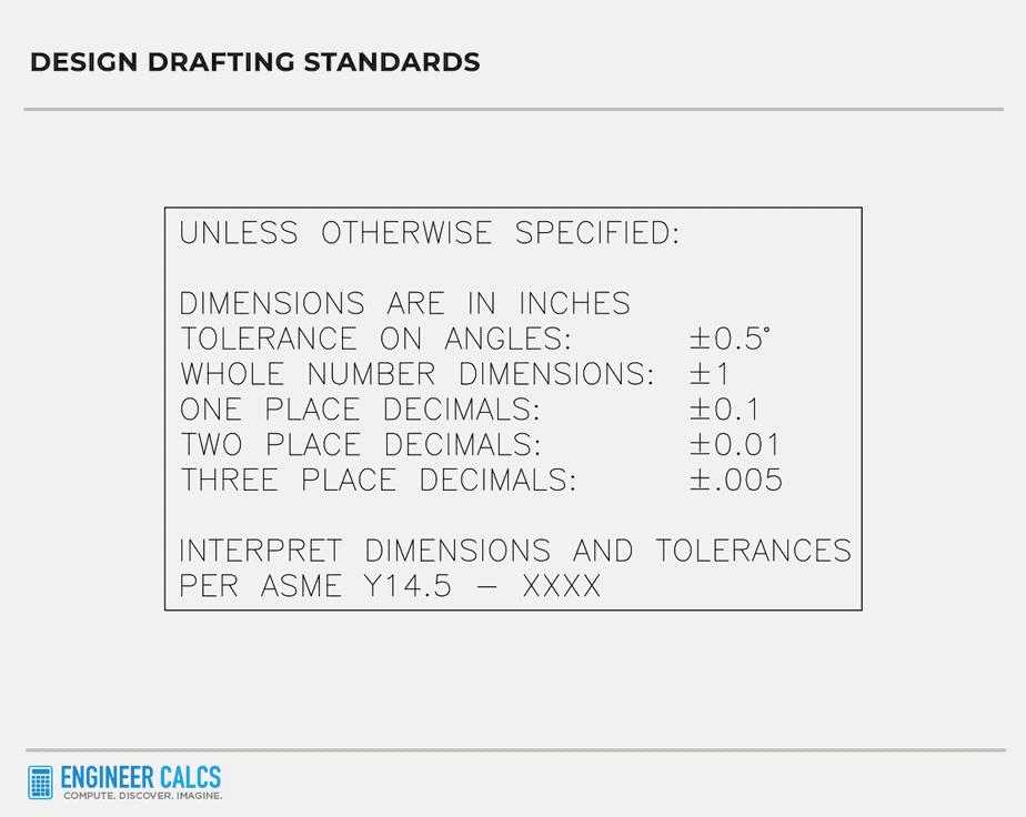 design drafting standards